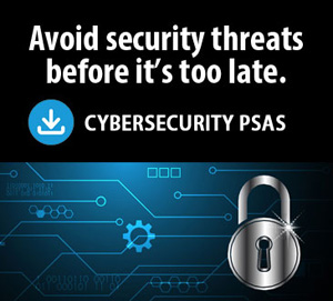 Avoid Security threats before it's too late. Cybersecurity PSAS